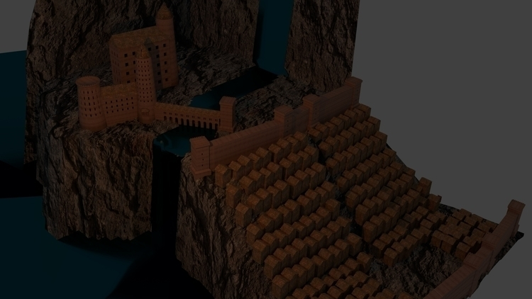 Castel - illustration, conceptart - arlindoalface | ello