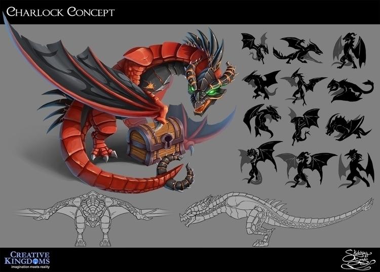 concept art MagiQuest - conceptart - sketchingsands | ello