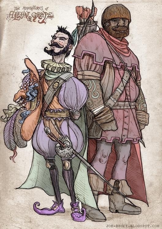 Bandit Kings - roleplay, characters - joebecci | ello