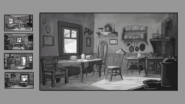Green Gables kitchen - lillisketch | ello