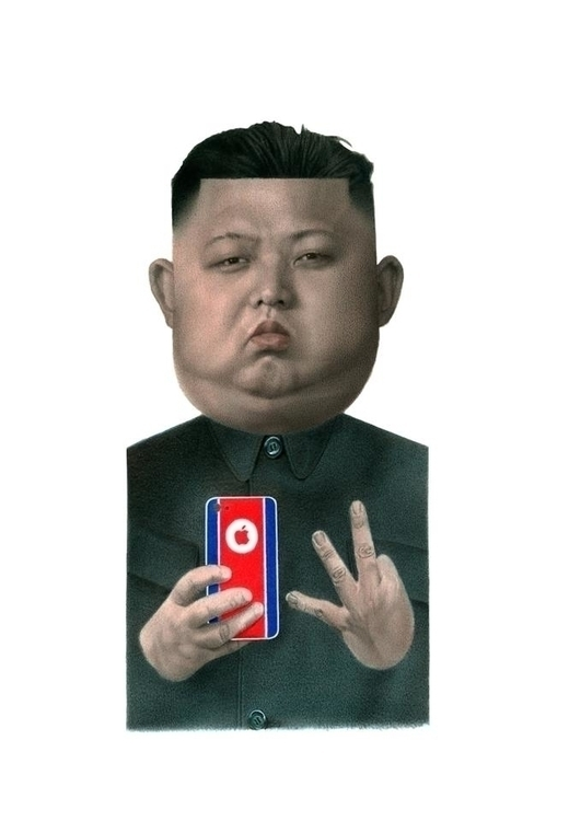 Kim Jong - West Side - illustration - fabiopaolucci | ello