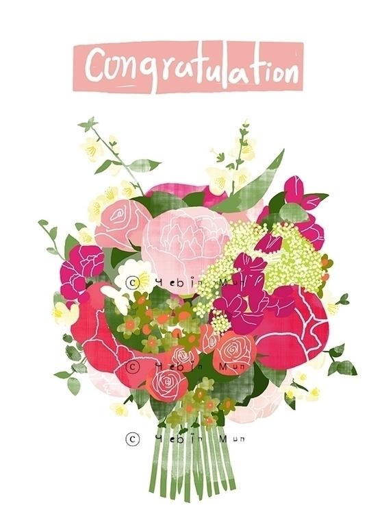congratulations - illustration, conceptart - yebin | ello