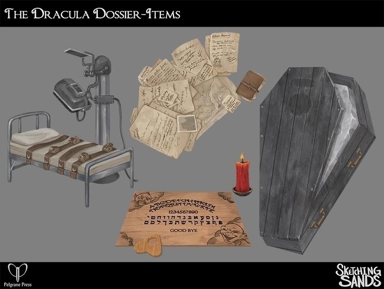 Items Dracula Dossier - conceptart - sketchingsands | ello