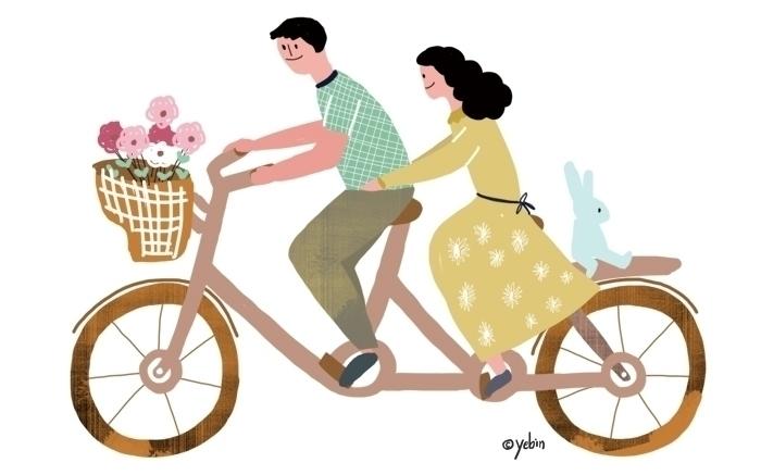 Season_Spring - illustration, conceptart - yebin | ello