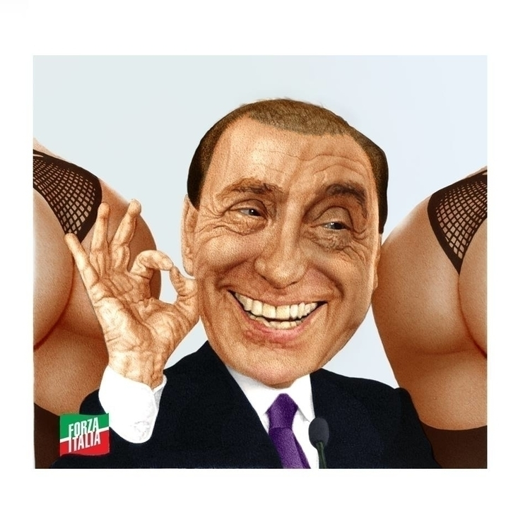 Silvio Berlusconi - Bung Bunga - fabiopaolucci | ello