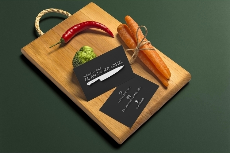 business card mockup - illustration - jeniiko | ello
