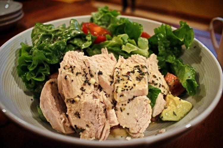 Chicken Salad - photography, food - ipaintkickboxers | ello