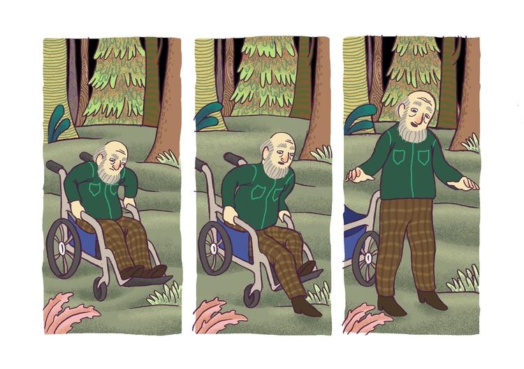 man cat. short comic book - oldman - efiolin | ello