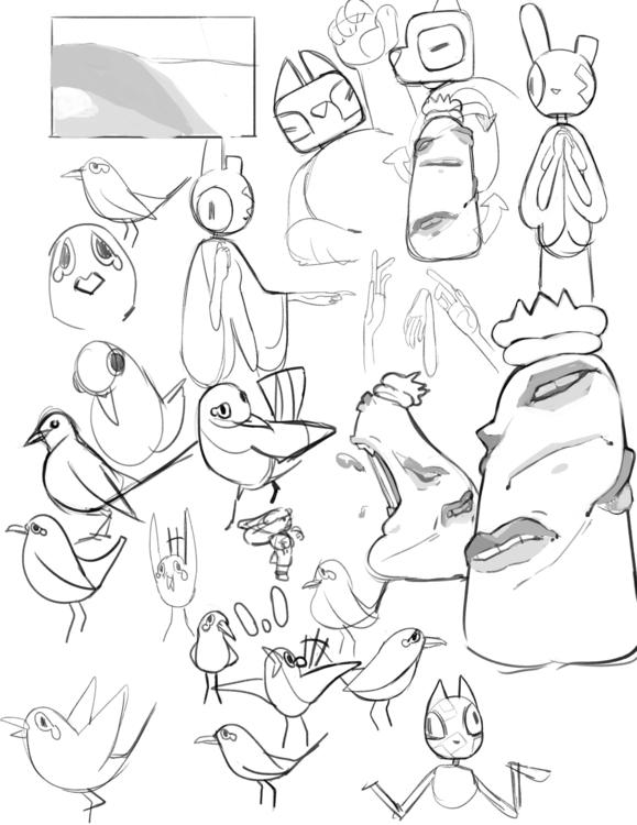 pass character concepts - characterdesign - tartfolio | ello
