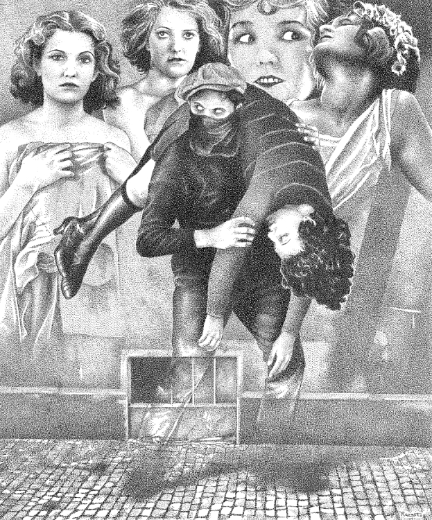 Collage illustration - collage, penink - renzorazzetto | ello