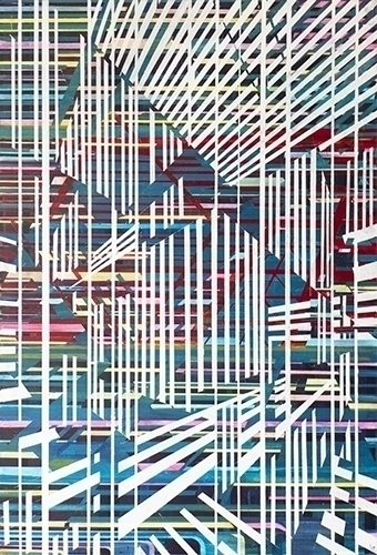 Lines 6 - Love, Painting, Abstract - steveyoung-8542 | ello