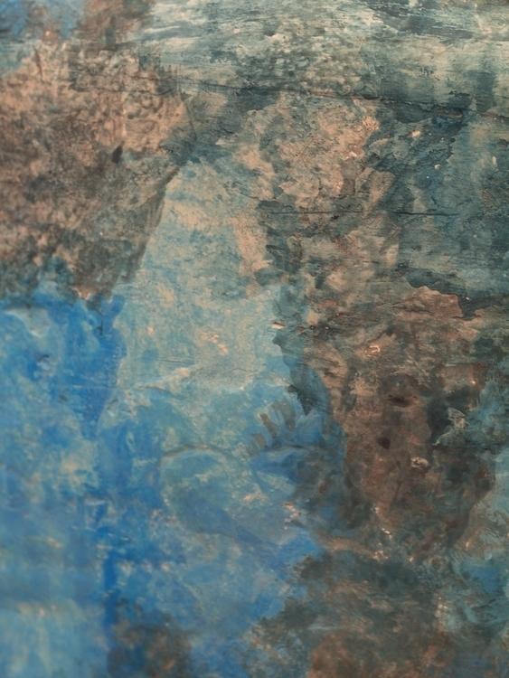 Water Detail Clay, Acrylic Ink  - devon_kelly | ello