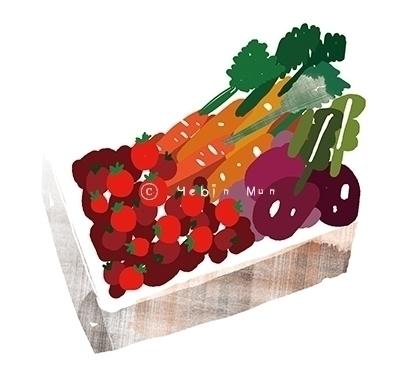 Dinner Table - illustration - yebin | ello