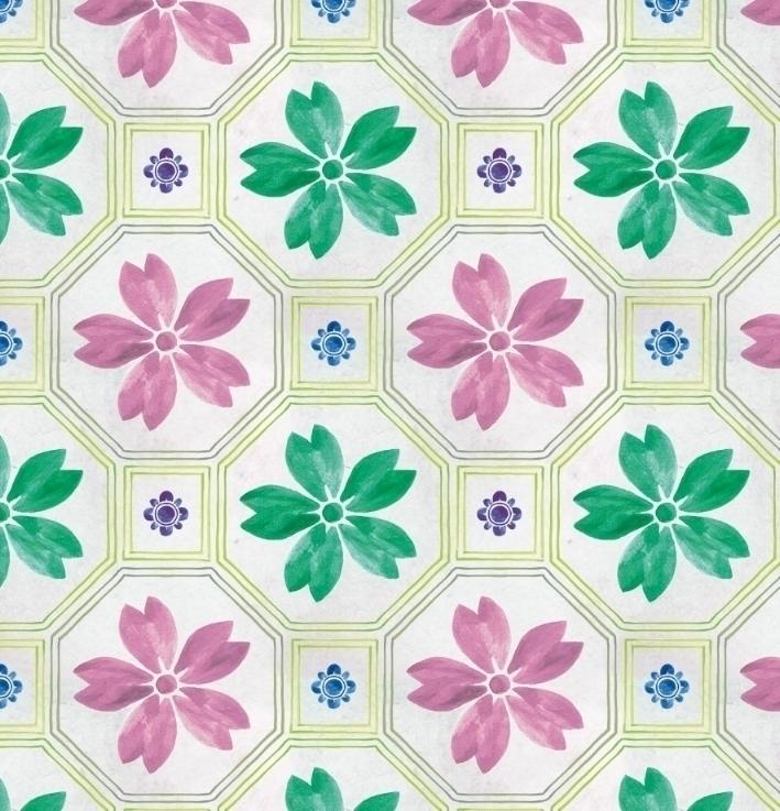 Watercolour Tiles - cibelle-7505 | ello