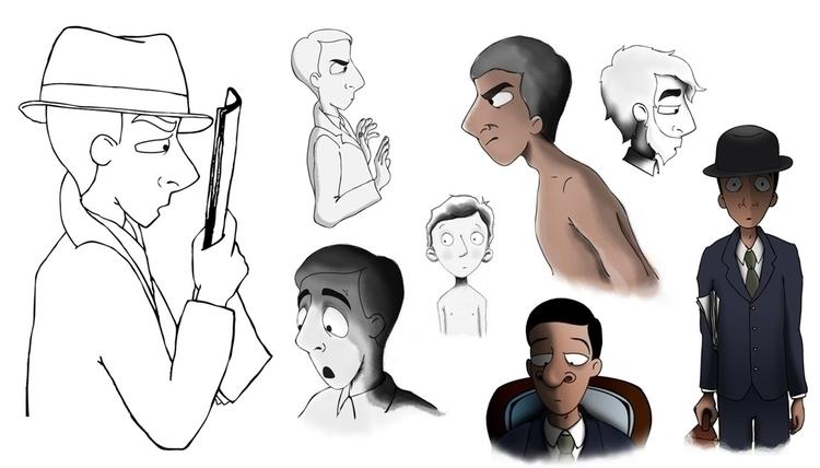 Scapegoat character design - thescapegoat - cpowell-1234 | ello