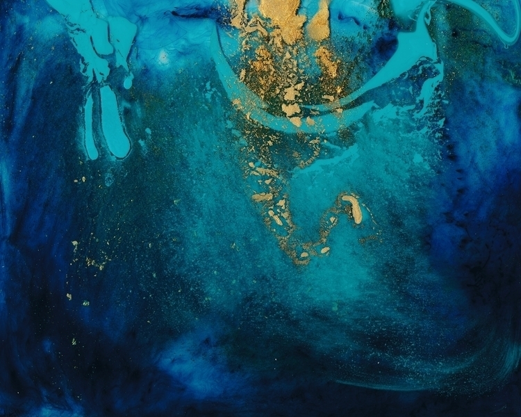 Cosmic Connection - painting, abstractpainting - douglasfischerfineart | ello