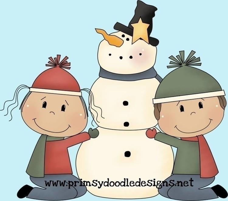 Build Snowman - illustration - lisacraig | ello