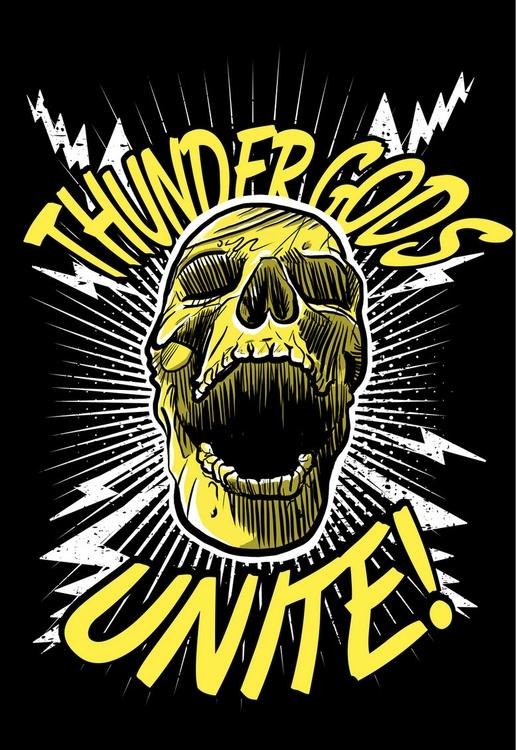 Thunder Gods Unite - mattfontaine - mattfontaine | ello