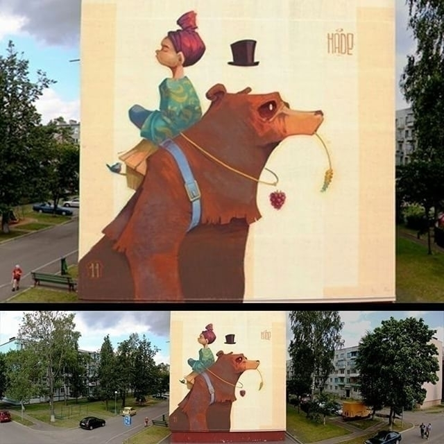 aleksandrhade, hade, street, streetart - aleksandrhade | ello