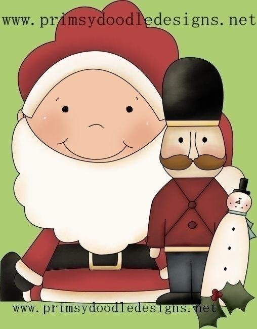Santa Baby - illustration - lisacraig   ello