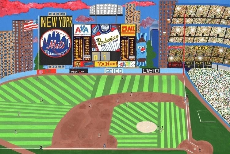 York Mets Summer - newyork, colour - mohanballard | ello