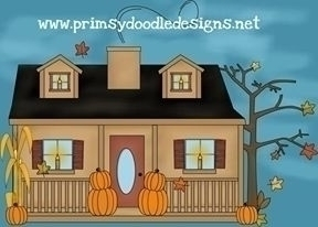 Fall Home - illustration - lisacraig | ello