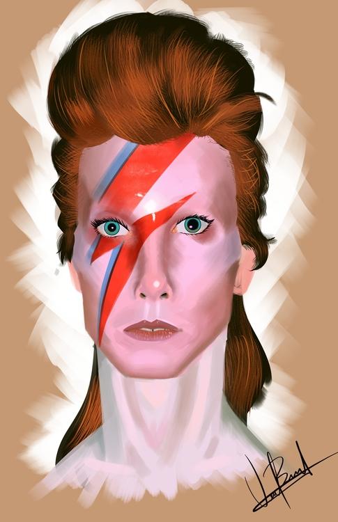 David Bowie Memorial - davidbowie - vicbel | ello