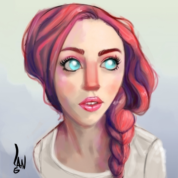 stuff - girl, sketch, characterdesign - sketchian-5498   ello