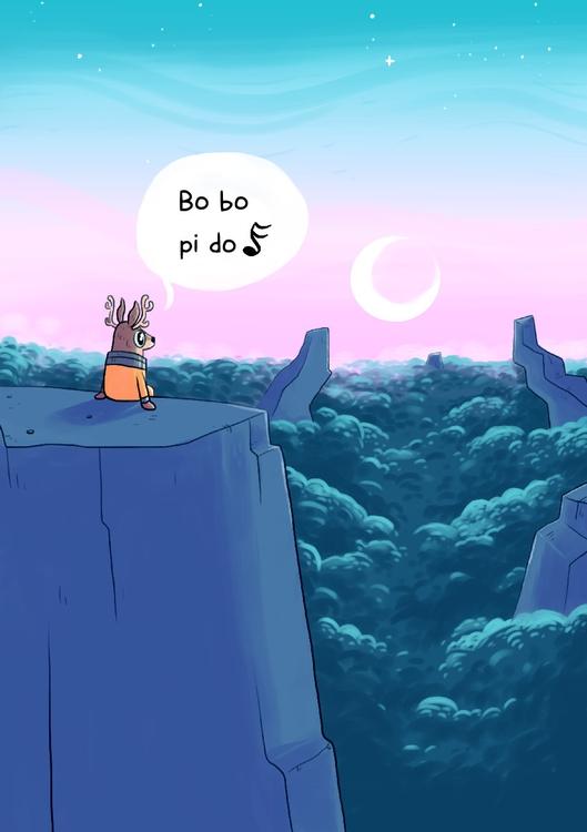 comic, spacedeer, space - indiana_jonas | ello