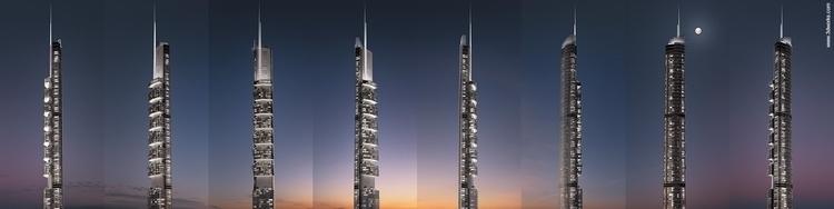 pentominium, dubai - 3d, skyscraper - 3dworks | ello
