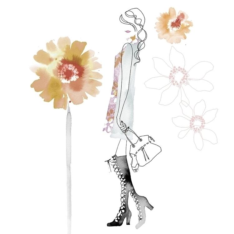 ISETAN Salon de Parfum2015 - illustration - chicoh-7423 | ello