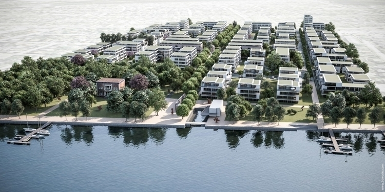 Urban Development Study - 3d, rendering - 3dworks | ello