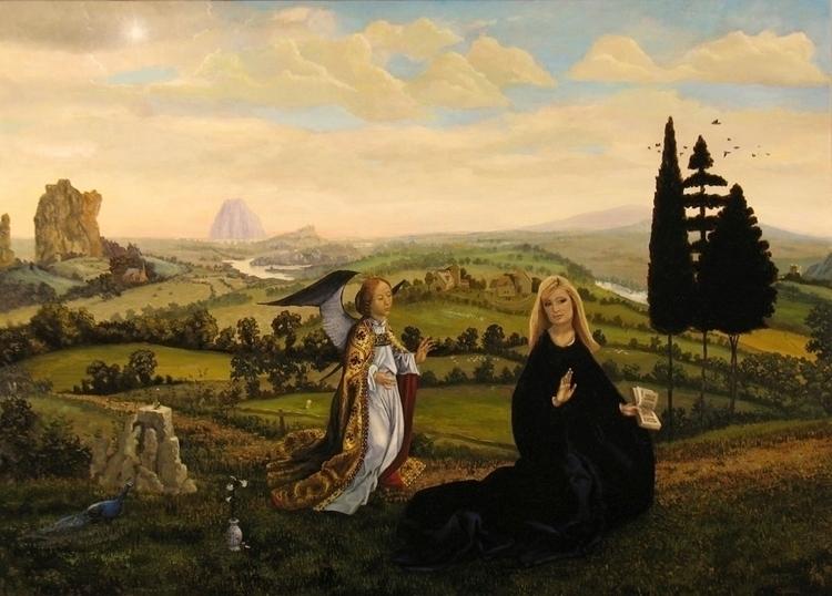 Annunciation Paris - painting - bosborn | ello
