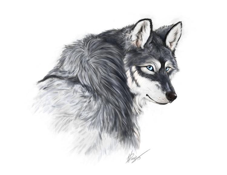 Wolfypaints 2015 - illustration - wolfypaints   ello