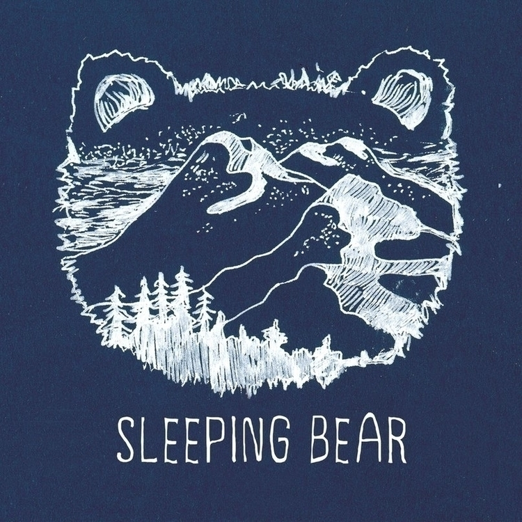 CD cover Sleeping bear 1-st alb - litae | ello