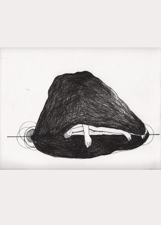 conchiglia - illustration, painting - unselvaggioemezzo | ello