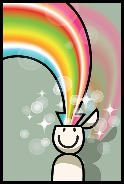 inspiration - colorful, vector, character - jurjenkraan | ello