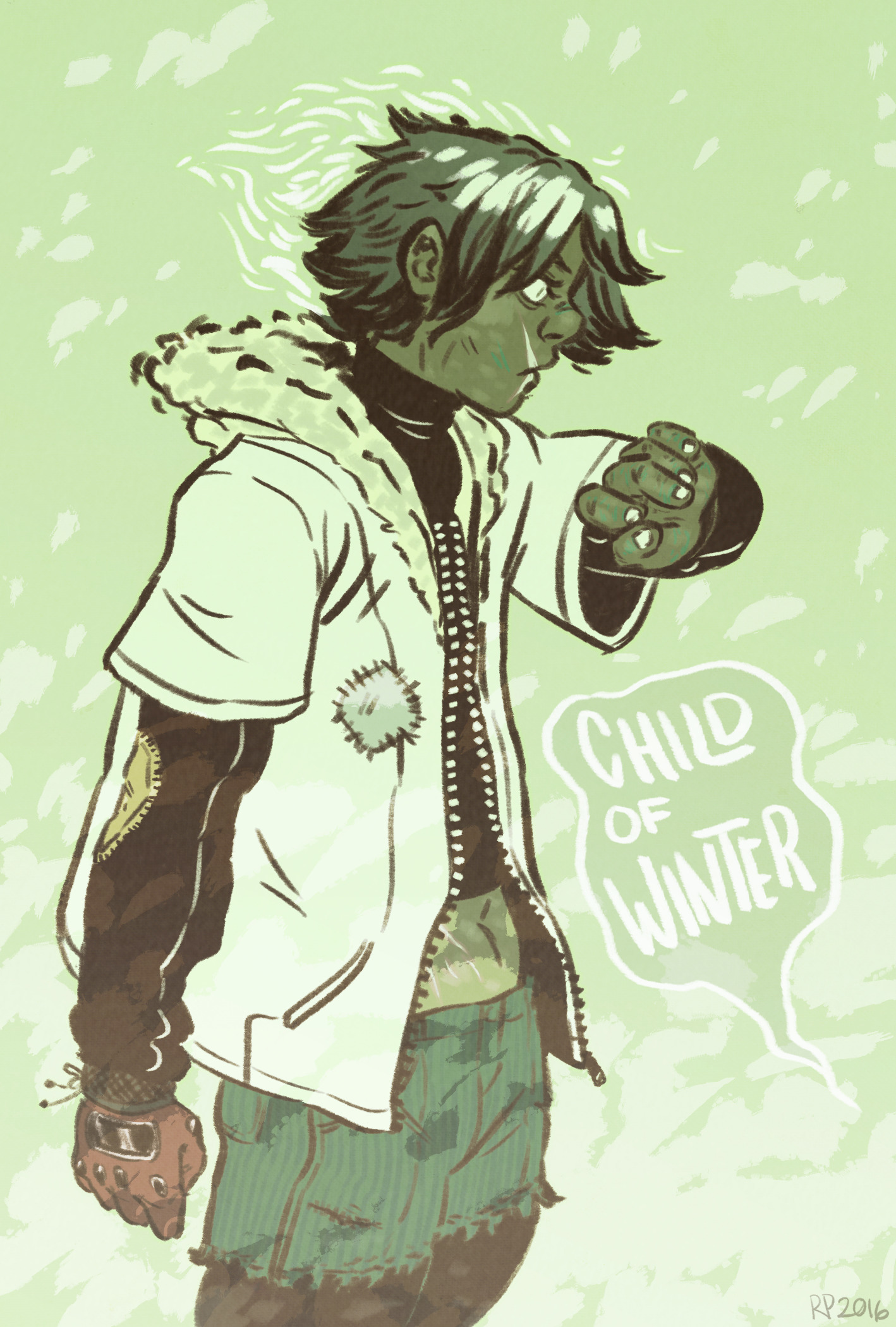 childofwinter, illustration, sketch - rachelpoulson | ello