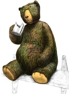 Mucky bear - characterdesign, character - jurjenkraan | ello