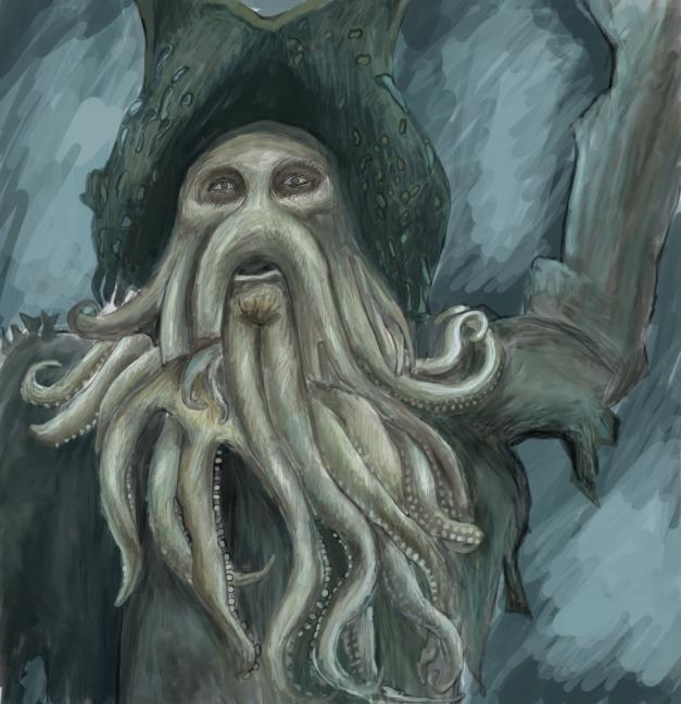 Davy Jones Painting - Davyjones - carissarenard | ello