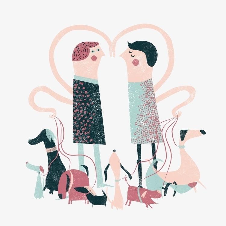 Love Dogs - dogs, love - amalteia   ello