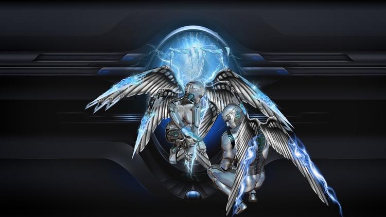 JAHWEH ANGELS CHERUVIM SCI-FI V - golaniyehuda | ello