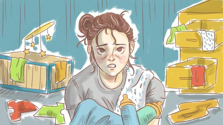 stress, mom - thisjustine | ello