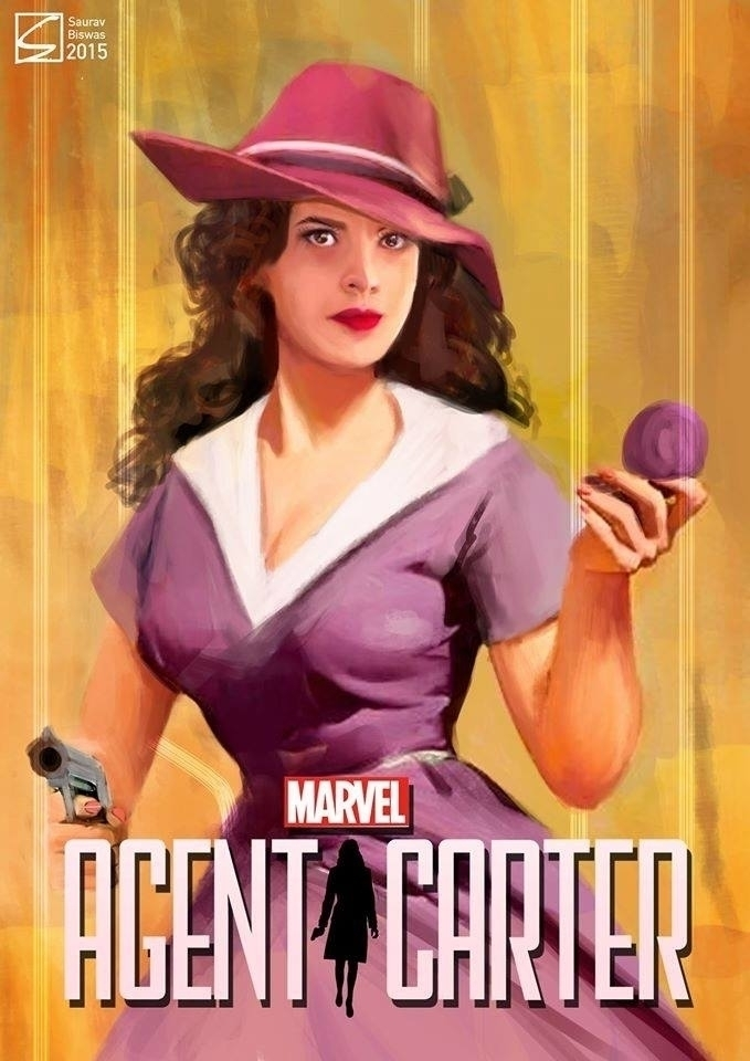 Agent Carter Fan Art - illustration - saurav-1292 | ello