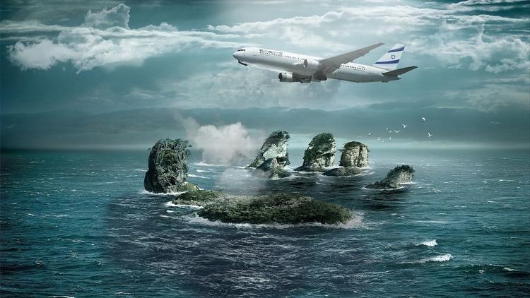 EL AL ISRAELI AIRLINES 04 - 3d, design - golaniyehuda   ello
