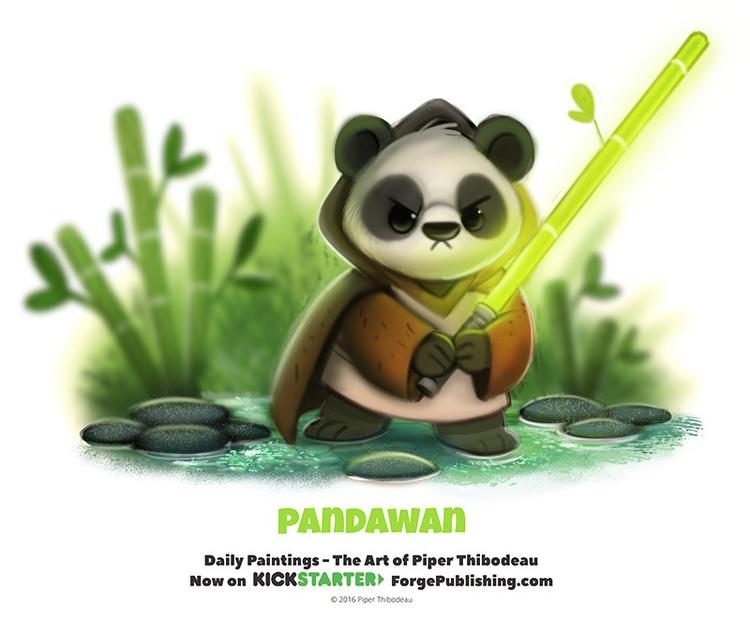 Daily 1358. Pandawan - piperthibodeau | ello