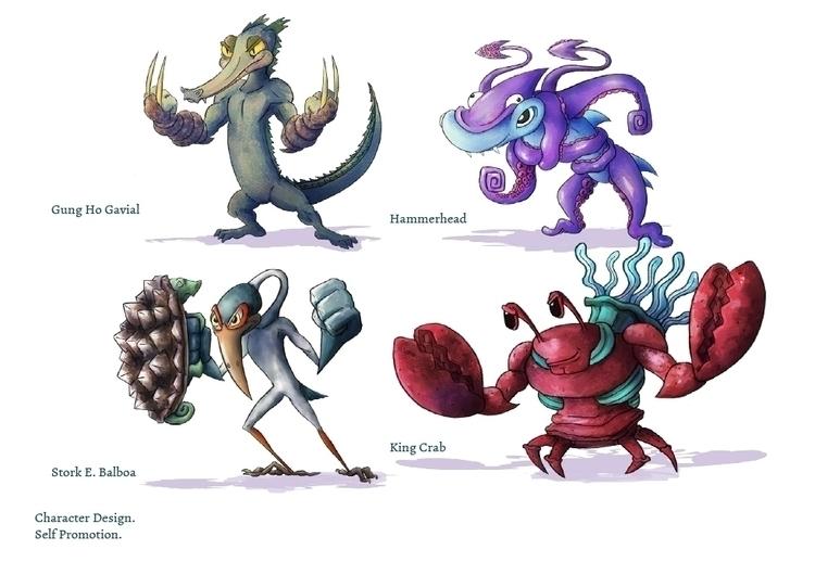Character Design, named Rejecte - ericbdg | ello