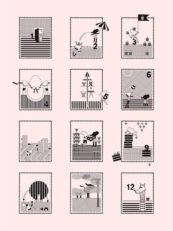 Illustrations agenda 2013 Short - silke-6038 | ello