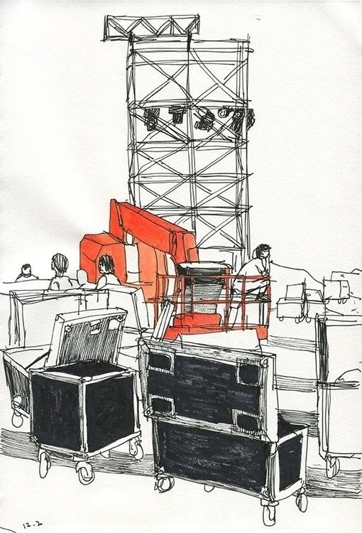 construction, drawing, reportage - ononlao | ello
