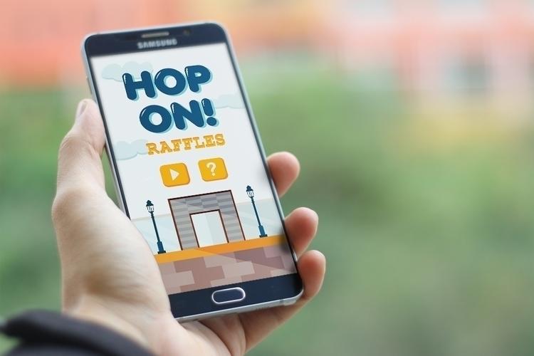 Hop Raffles - Mobile Game - animation - cheezynguyen | ello